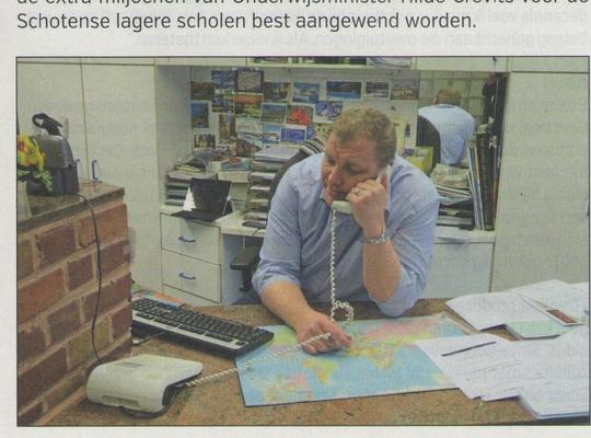 Burgemeester-reisagent Maarten De Veuster beleefde hectische dagen